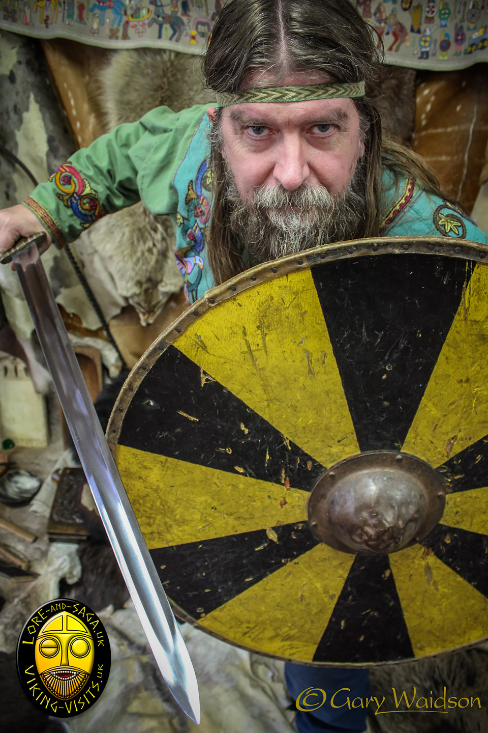 Don't annoy the Viking! - Image copyrighted © Gary Waidson. All rights reserved.